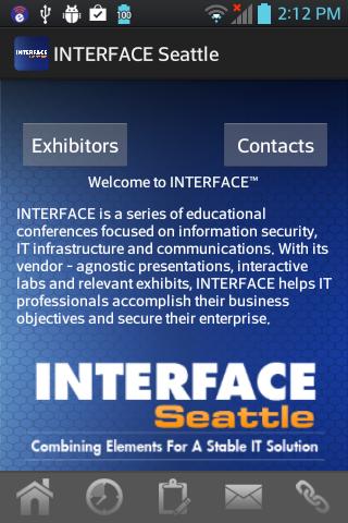 Interface Seattle- screenshot