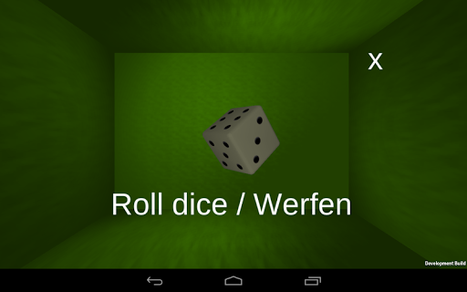Portable Dice DEV Würfel