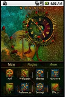 GO Launcher Theme Goth Hearts- screenshot thumbnail