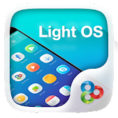 Light OS GO Launcher Theme
