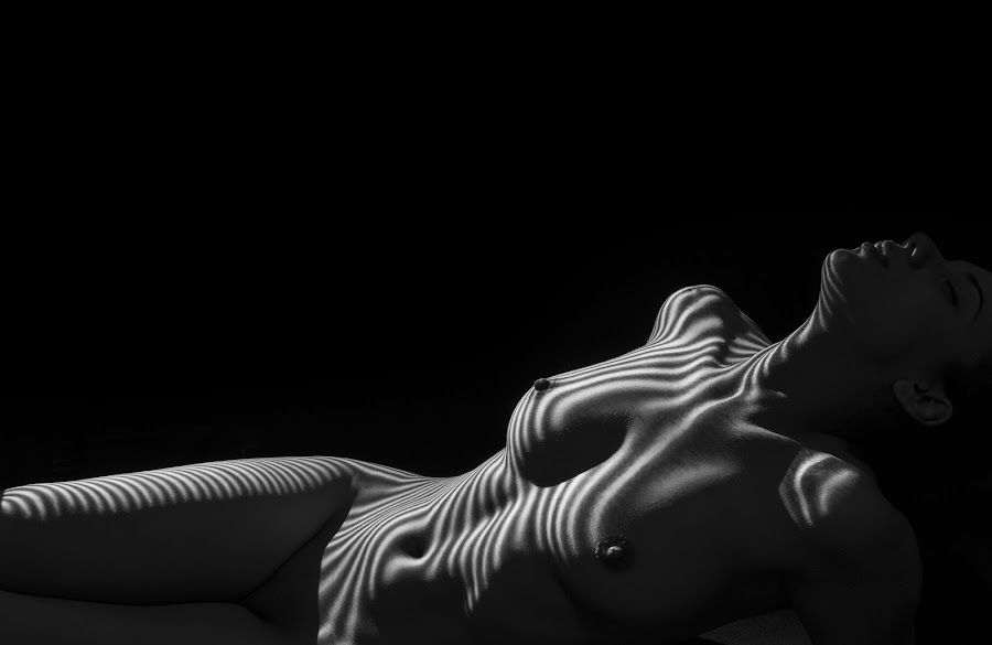 Dream by Todor Lichev - Nudes & Boudoir Artistic Nude ( girl, shadow & stripes, artistic nude, beauty, people )