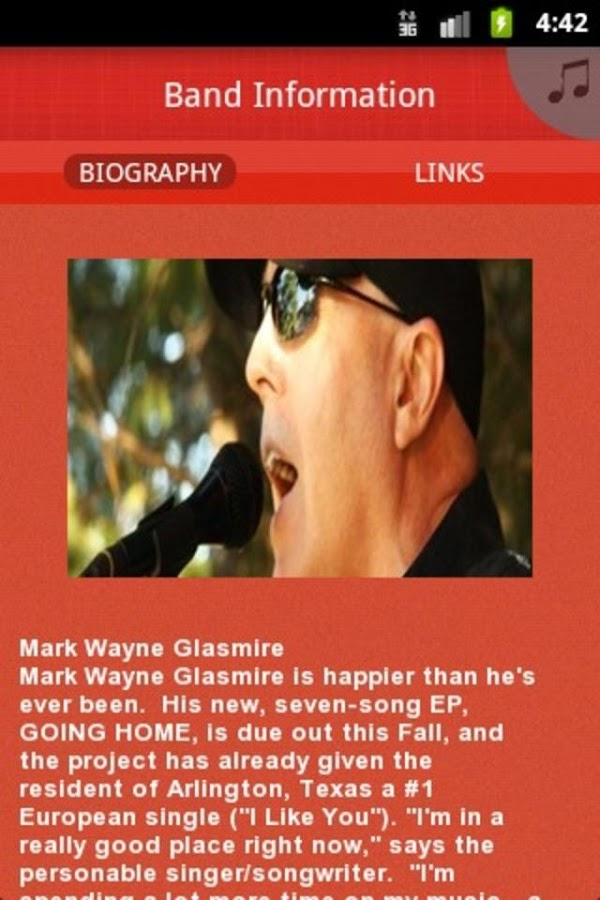 Mark Wayne Glasmire- screenshot