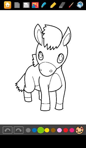 Coloring Horses Games