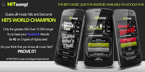 Guess Song Pop Music Game Quiz - screenshot thumbnail