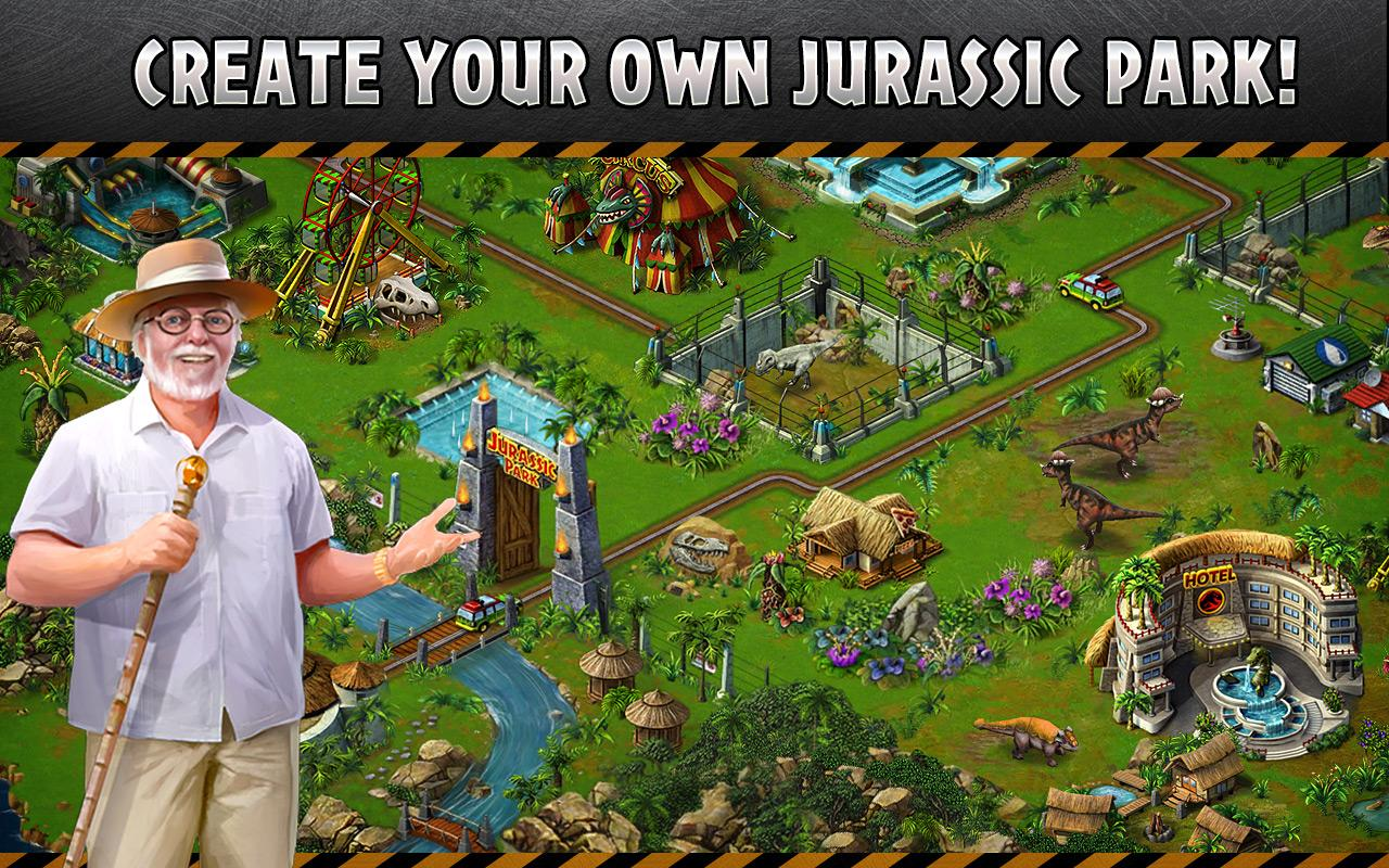 Jurassic Park™ Builder- screenshot