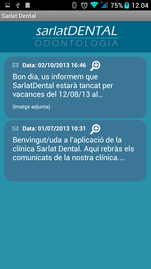 Sarlat Dental- screenshot
