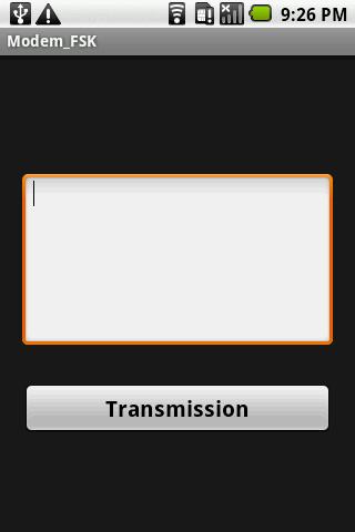 Modem_FSK- screenshot
