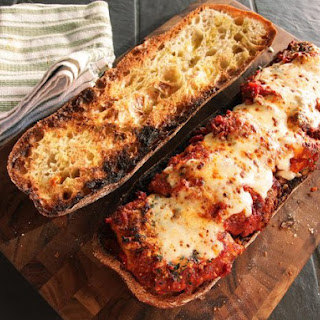 Party-Sized Chicken Parmesan Sandwiches
