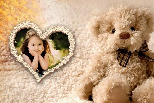 Teddy Love Photo Frames