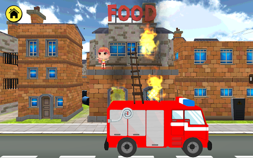 Kidlo Fire Fighter - Free 3D Rescue Game For Kids 1.6 screenshots 6
