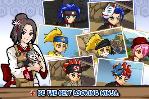 Ninja Saga- screenshot