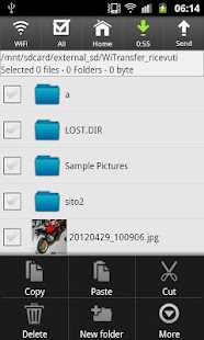 Wifi File Transfer - screenshot thumbnail