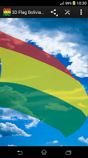 3D Flag Bolivia LWP