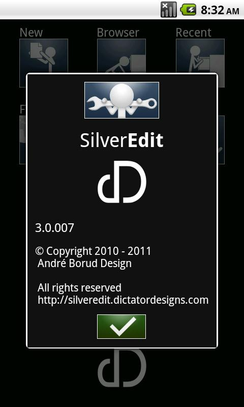 SilverEdit- screenshot