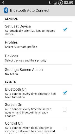 Bluetooth Auto Connect screenshots 1