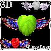 Wings Love 3D