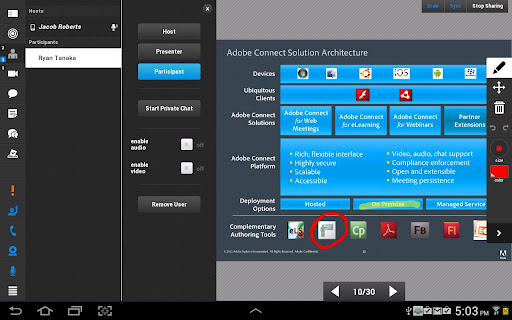 Adobe Connect  screenshots 8