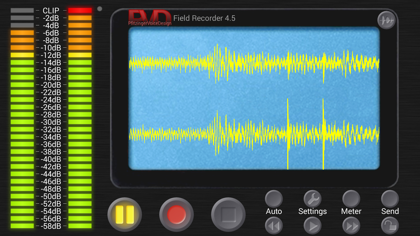 Field Recorder - screenshot