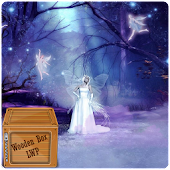 Fairy Sparkle Night Forest LWP