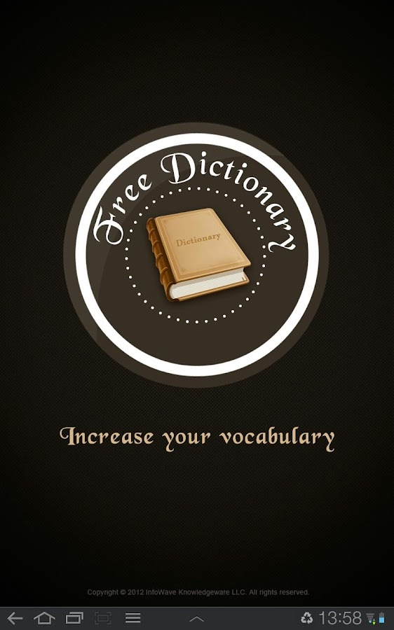 Free Dictionary- screenshot