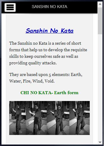 Warrior Ways Sanshin no Kata