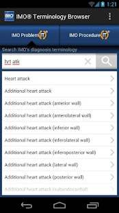 IMO Terminology Browser - screenshot thumbnail
