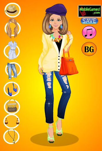 College Girl Dress up game