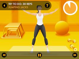 Screenshot of 7 Minute Workout