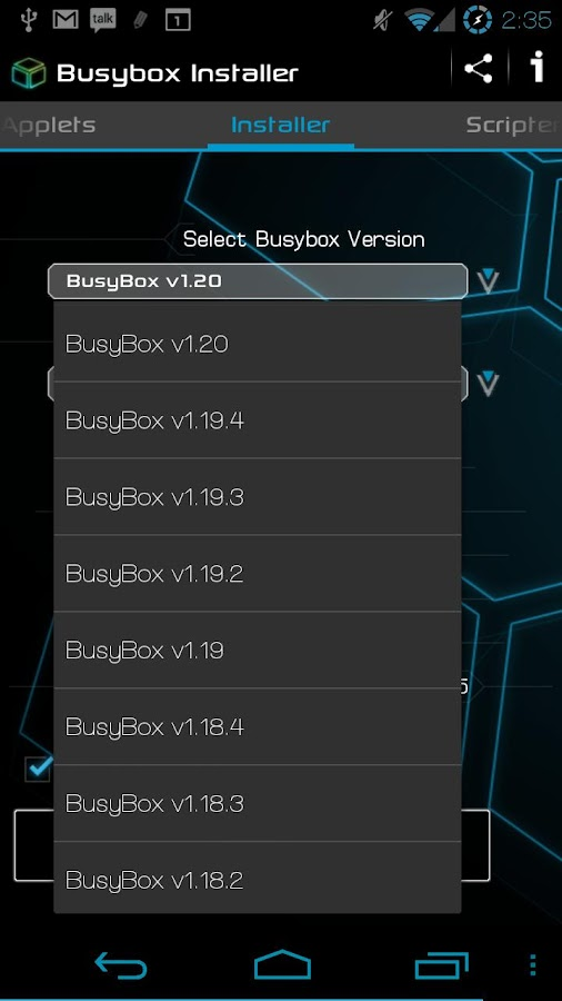 BusyBox Installer- screenshot