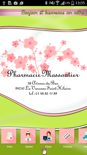 Pharmacie Massoutier