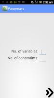 Screenshot of Linear Optimization Pro