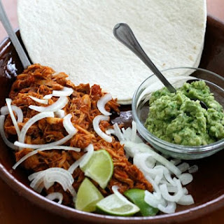 Pulled Chicken Tacos.