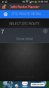 Bus Route App screenshot 6
