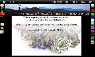 Screenshot of Why Bead Crochet? Gallery 1