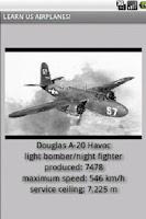 Screenshot of US Planes 1940-1945