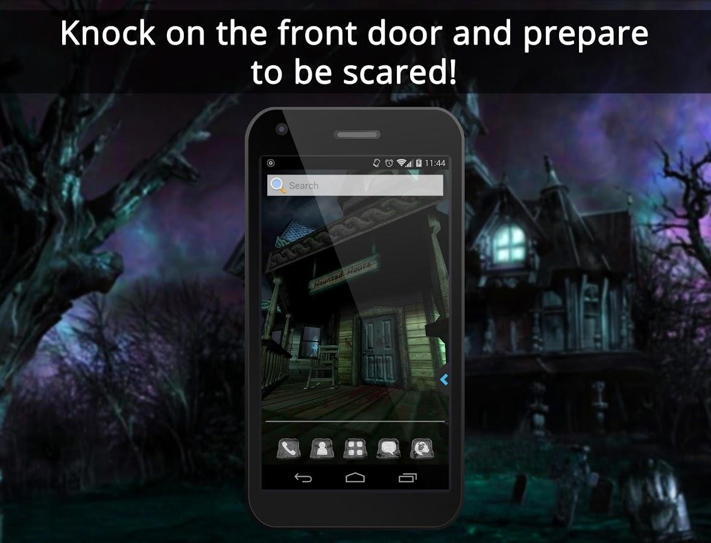 Gmail live themes - Ur 3d Haunted House Live Theme Screenshot