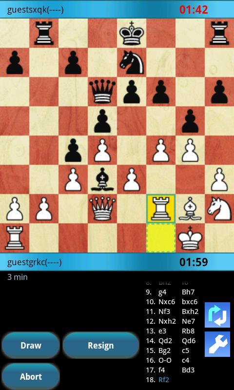 SimpleChess (Online) - screenshot
