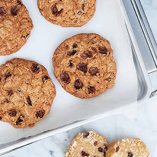 Slice-and-Bake Oatmeal Raisin Cookies.
