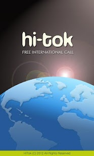 Free Int'l Call - HiTok - screenshot thumbnail