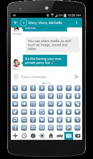 chomp SMS Emojis - screenshot thumbnail