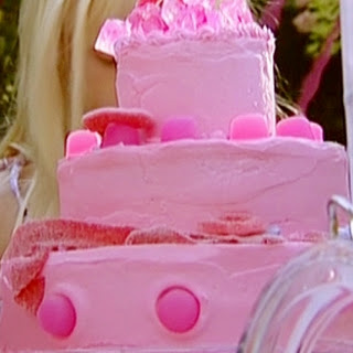 Birthday Cake with Hot Pink Butter Icing Recipe