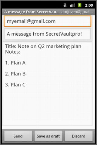 SecretVaultpro(free) - screenshot