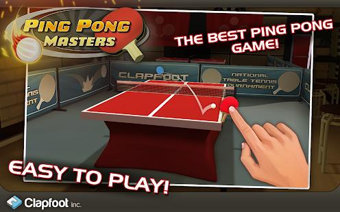 Ping Pong Masters 11