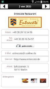 Das Telefonbuch – lokale Info - screenshot thumbnail