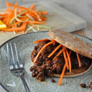 Slow Cooker Vegetarian Lentil Sloppy Joes ♥.