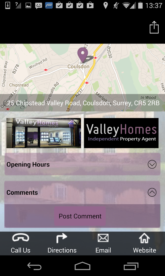 Valley Homes- screenshot