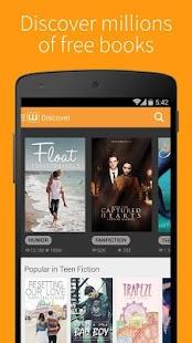 Wattpad Beta- screenshot thumbnail