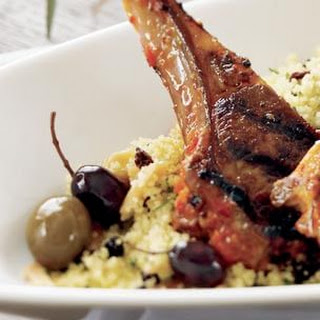 Couscous with Almonds and Currants Recipe