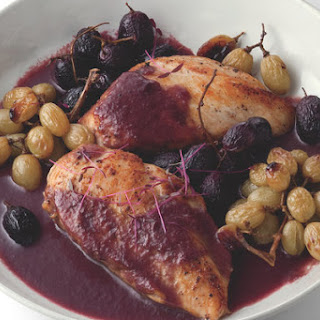 Sautéed Chicken With Roasted Grapes
