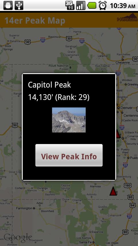 14ers.com - screenshot